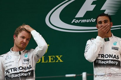 Chinese GP: Hamilton and Rosberg row in post-race press conference