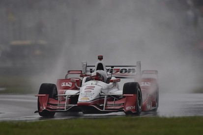 NOLA IndyCar: Juan Pablo Montoya on pole as storm stops qualifying