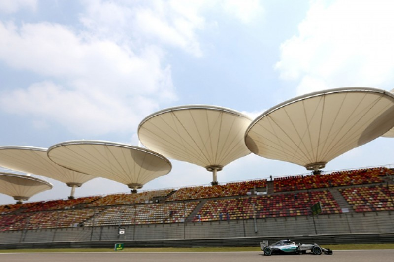 F1 Chinese GP: Hamilton leads Raikkonen in eventful second practice