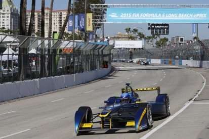 Buemi and Prost seek answers for Long Beach Formula E power issues