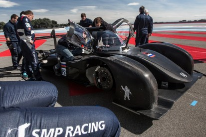 SMP's new BR Engineering LMP2 car to miss ELMS opener