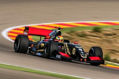 Matthieu Vaxiviere tops Formula Renault 3.5 test at Motorland Aragon