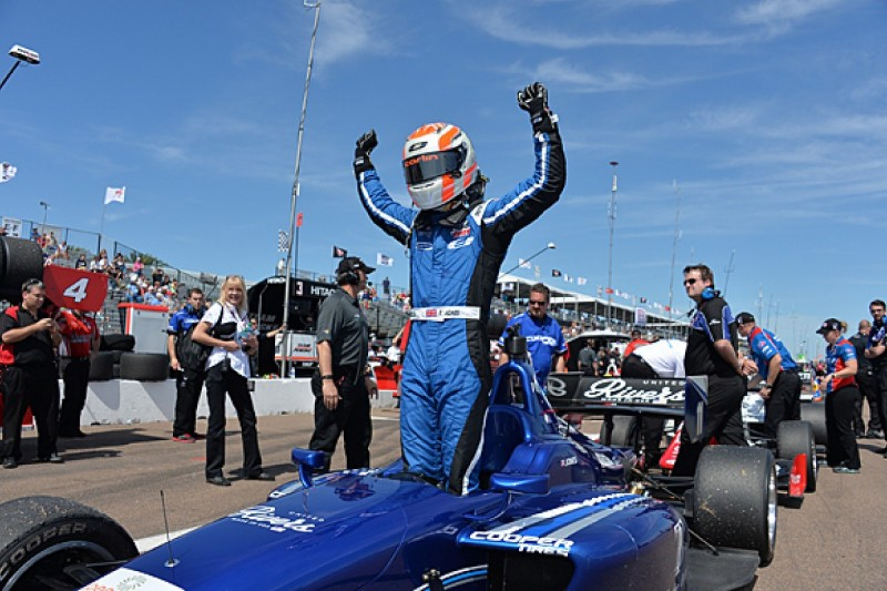 St Pete Indy Lights: Ed Jones gives Carlin win on American debut