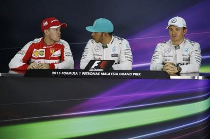 Malaysian GP qualifying press conference
