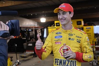 Martinsville NASCAR: Joey Logano takes pole for Penske after delay