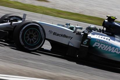 Malaysian GP: Nico Rosberg beats Lewis Hamilton in final practice