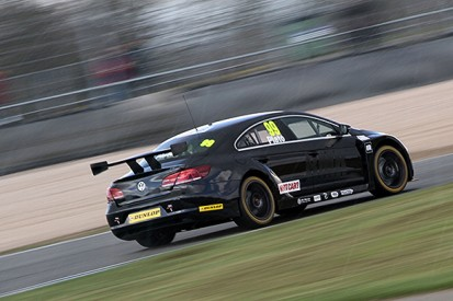 Donington Park BTCC test: Plato leads Turkington in BMR one-two