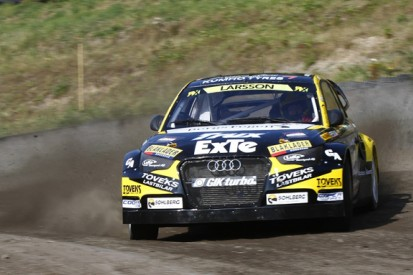 European champ Larsson launches full World Rallycross campaign