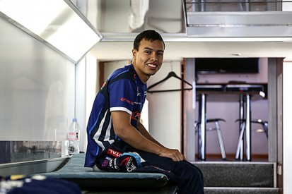Oscar Tunjo moves from Formula Renault 3.5 to GP3 with Trident
