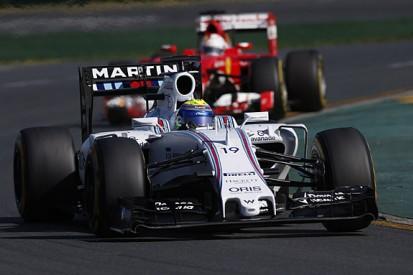 Australian GP: Williams F1 team had no options to stop Vettel
