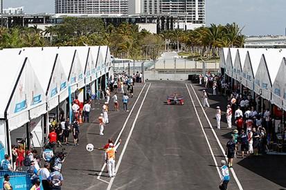 Miami Formula E: Sam Bird leads delayed practice for Virgin