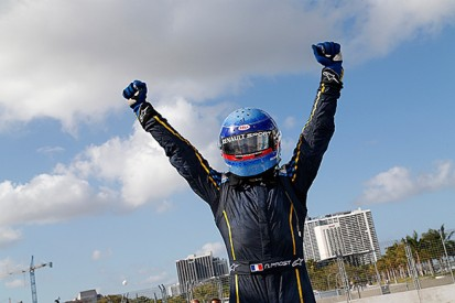 Miami Formula E: Nicolas Prost beats Scott Speed, Daniel Abt to win
