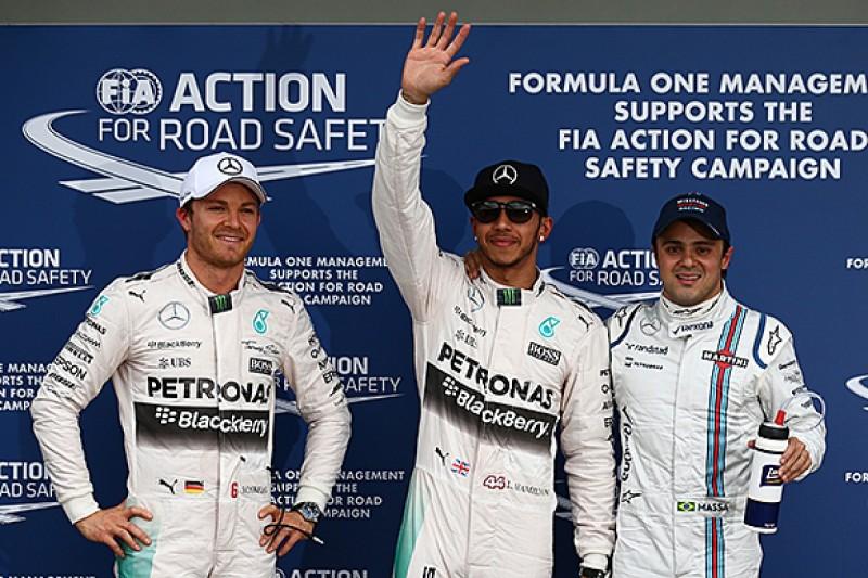 Australian GP: Lewis Hamilton takes dominant pole for Mercedes