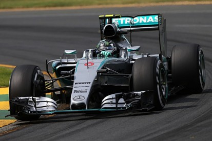 F1 Australian GP: Nico Rosberg says he's as fast as Lewis Hamilton