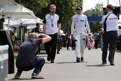 Australian GP: Jenson Button says McLaren just focused on mileage