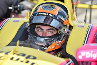 Rookie Jack Harvey first to crash in 2017 Indianapolis 500 practice