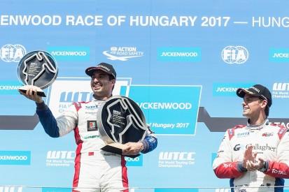 WTCC Hungaroring: Bennani takes first 2017 win after Huff penalty