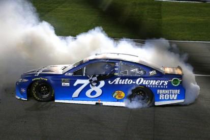Kansas NASCAR Cup: Martin Truex Jr wins incident-filled race