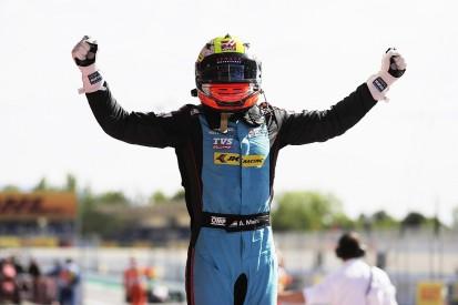Haas F1's Arjun Maini takes maiden GP3 win at Barcelona