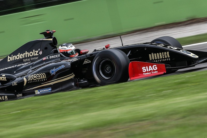 Binder makes it a Monza V8 3.5 double at Monza ahead of Nissany