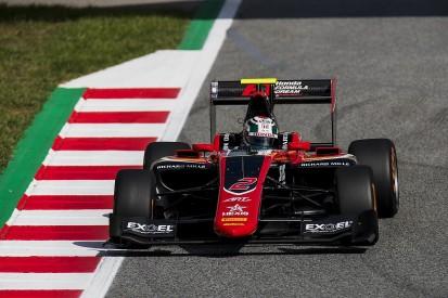 Barcelona GP3: Honda junior Fukuzumi holds off ART team-mate Aitken