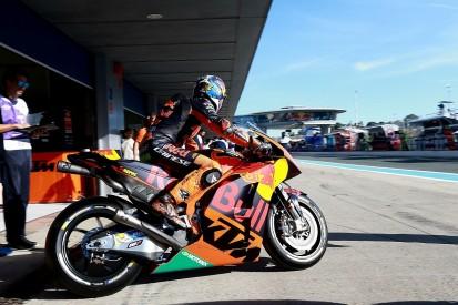 KTM MotoGP bike no longer 'kicking like crazy' with new engine