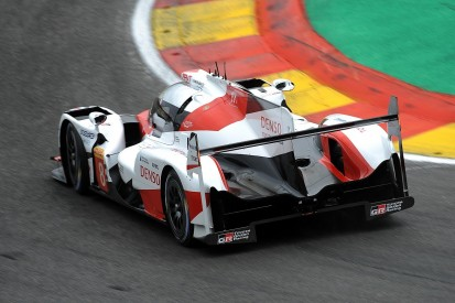 Toyota's gap between cars at Spa a 'headscratcher', Davidson says