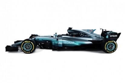 Mercedes first F1 team to reveal new larger numbers and names