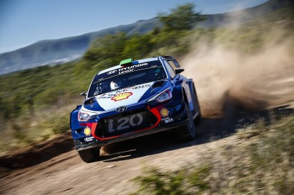 WRC Rally Portugal start for Marshall with Hyundai's Paddon