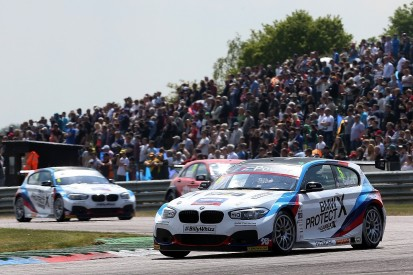 Thruxton BTCC: Collard wins second race after myriad red flags