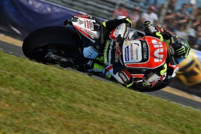 Crutchlow 'wasted time' trying Honda parts in Jerez MotoGP practice