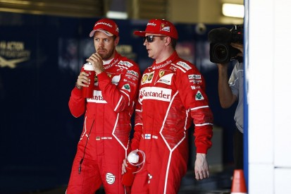 Ferrari's Vettel: Raikkonen has not had deserved results in F1 2017