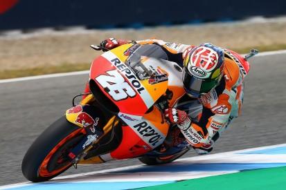 Jerez MotoGP: Dani Pedrosa fastest for Honda again in practice
