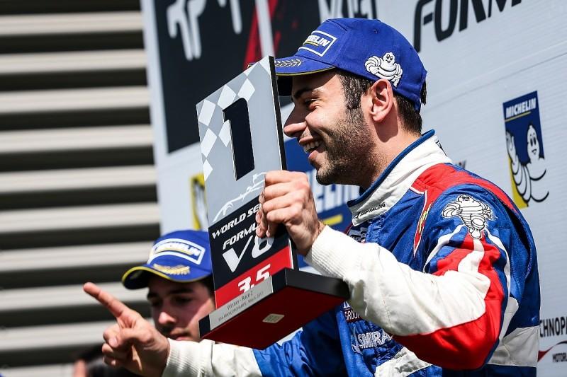 AVF driver Matevos Isaakyan takes second Formula V8 3.5 win at Spa