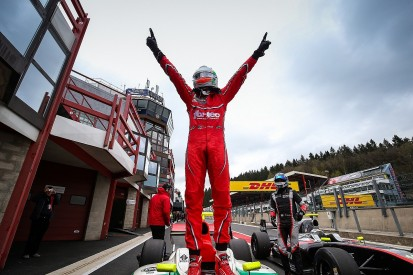 Force India F1 team's Celis takes first Formula V8 3.5 win at Spa