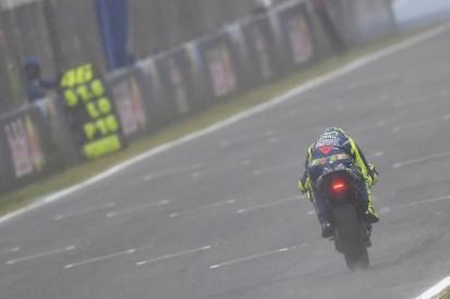 Valentino Rossi worried by Honda wet pace in Jerez MotoGP practice