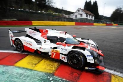 WEC Spa: Kobayashi keeps Toyota ahead of Porsche in second practice
