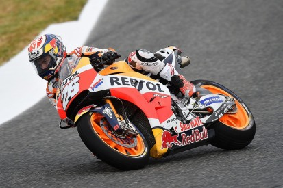 Jerez MotoGP: Dani Pedrosa fastest in wet first Jerez practice