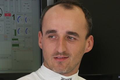 Robert Kubica tests Formula E car at Donington Park