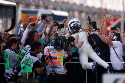 Russian GP: Valtteri Bottas hails 'surreal' first win