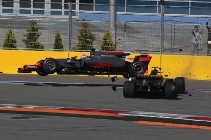 Russian GP: Palmer hoped Grosjean would 'use his brain' in crash
