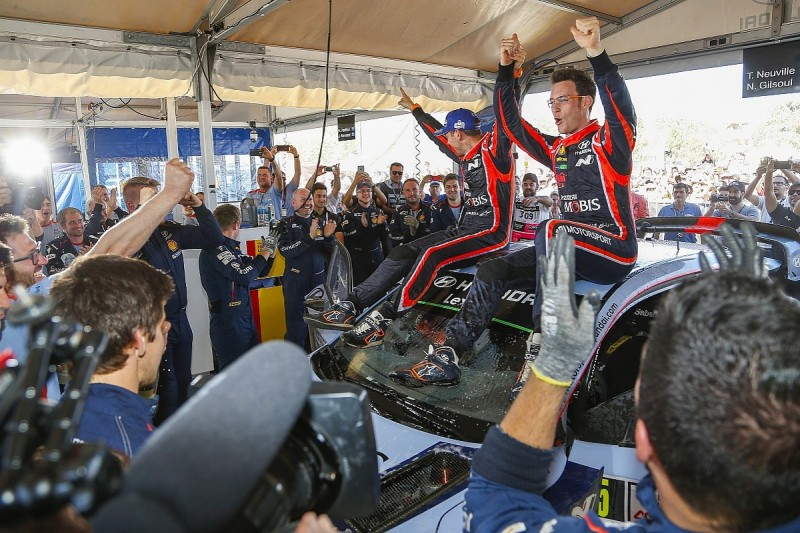 WRC Rally Argentina: Neuville denies Evans victory by 0.7s