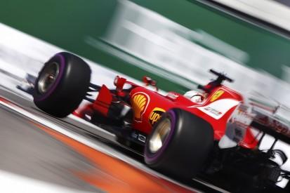 Sebastian Vettel keeps Ferrari on top in final Russian GP practice
