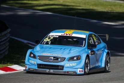 WTCC Monza: Thed Bjork quickest as Volvo leads Honda