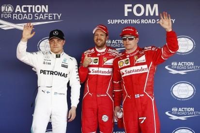 Russian GP: Vettel leads first all-Ferrari front row since 2008