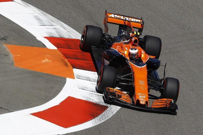 F1 Russian GP: Vandoorne gets McLaren's first 2017 grid penalty