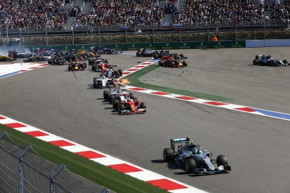 Russian Grand Prix: Changes made at Turn 2 to deter corner cutting