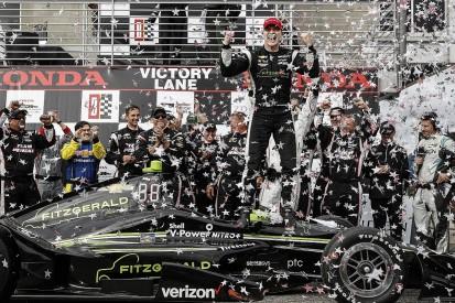 Barber IndyCar: Josef Newgarden gets first Penske win in third race