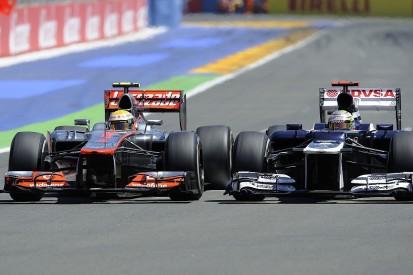 Lewis Hamilton hopes for McLaren and Williams Formula 1 revivals