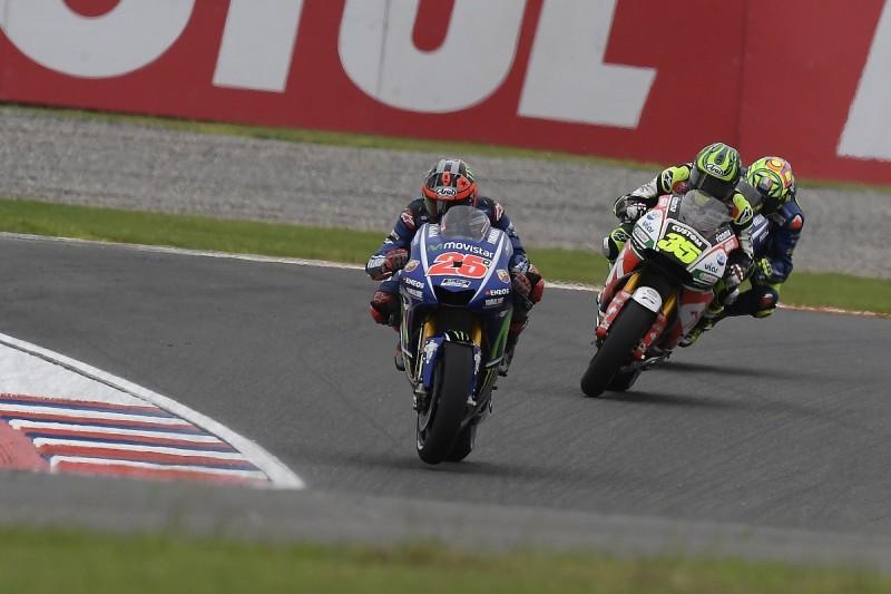 Yamaha MotoGP recruit Vinales can't ride bike how he'd like
